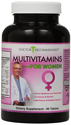 Doctor Recommended Multivitamins For Women, 90 Count