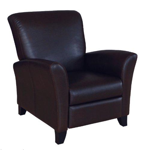black soho leather club chair recliner black soho leather club