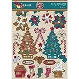 Joyeux Noel Silhouettes Die-Cuts 328/Pkg- image