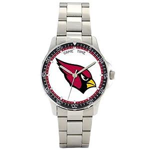 NFL Mens FC-ARI Arizona Cardinals Coach Series Watch by Game Time