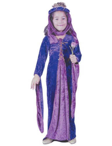 Renaissance Princess Velvet Child Sm Kids Girls Costume