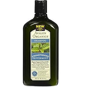 Avalon Organics Strengthening Shampoo - Pepppermint - 11 oz