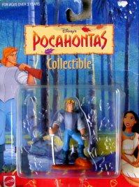 3 Pocahontas John Smith Collectible Figure - 1