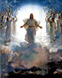 (13x19) Second Coming Of Jesus Christ Art Print POSTER quality
