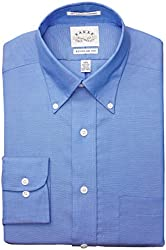 Eagle Men's Regular Fit Non-Iron Pinpoint Solid