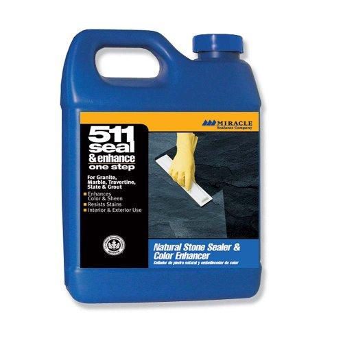 Miracle Sealants SE/EN QT SG 511 Seal and Enhance Penetrating Sealer and Color Enhancer, Quart (Grout Penetrating Sealer compare prices)