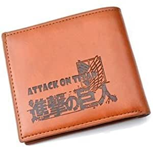 7 Weapons Attack on Titan Wallet