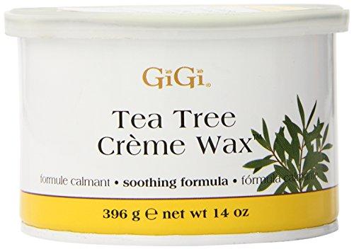 GiGi Tea Tree Creme cire, 14 onces