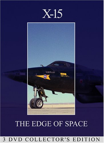Cover art for  X-15: The Edge of Space