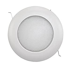 Capri Lighting Alalite 6 Shower Light Recessed Ceiling Waterproof Trim White Sh12p