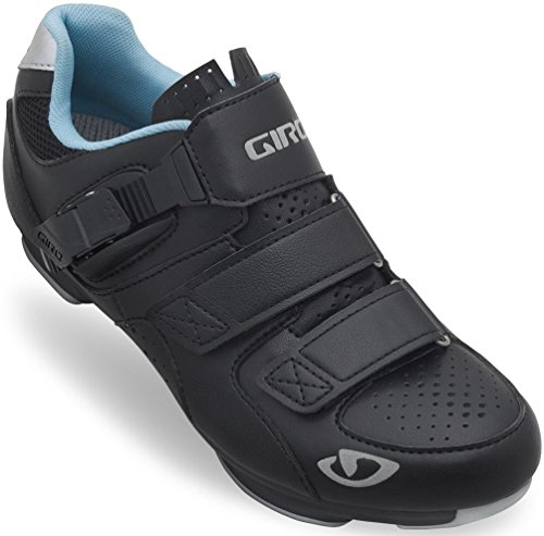 Giro GF22170 Womens Reveille Road Bike Shoes, Blk/Milky Blue - 38 (Giro Cycle Shoes Womens compare prices)