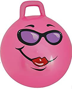 Pink Jumping Ball: Ages 10-12 (Teenagers)