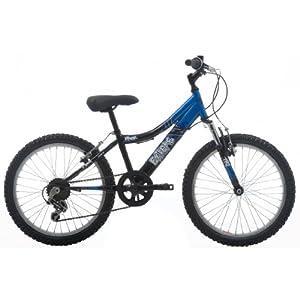 EXTREME by Raleigh Viper Boys Boys Mountain Bike - Black/Blue, 20-inch Wheel, 11 Inch Frame