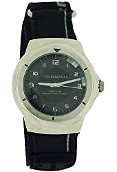 Terrain Grey Dial Black Velcro Strap Gents Sports Analogue Watch TV-1313G