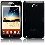 "SAMSUNG GALAXY NOTE TPU SILIKON H�LLE CASE COVER IN SCHWARZ, QUBITS RETAIL VERPACKUNGvon ""QUBITS"""