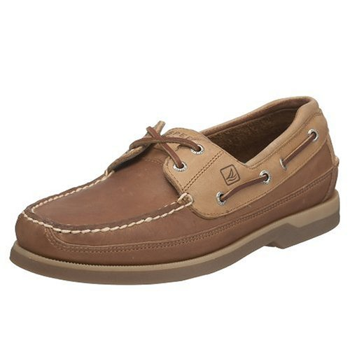 Sperry Mako 2-Eye Canoe Moccasins, OAK, 10