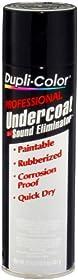 Dupli-Color UC102 Professional Rubberized Undercoat and Sound Eliminator - 17 oz.