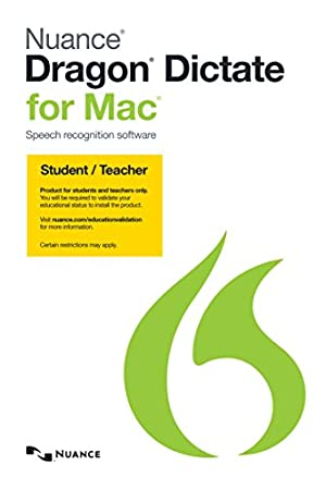 Dragon Dictate for Mac 4.0, Student/Teacher Edition [Download]