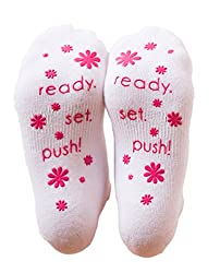 Labor and Delivery Non Skid Socks By Baby Be Mine Maternity Pregnancy