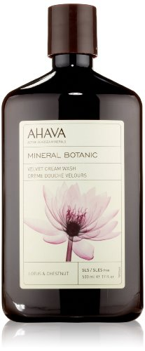 AHAVA Mineral Botanic crema velluto lavare Lotus e castagno ml 500