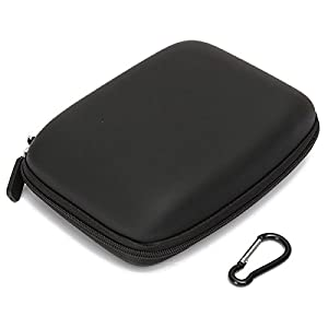 (3511-i) HARD SHELL CARRY BAG ZIPPER POUCH FOR 6INCH SAT NAV GPS