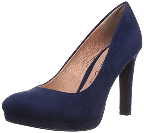 Buffalo H748-1 P1804D, Decolleté chiuse donna, Blu (Blu navy), 39