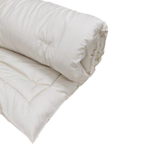 "Lifekind 1.5"" Wool Topper Organic Pillow Top - Eastern King front-367884"