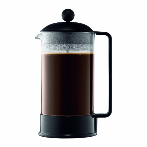 Original French Press Coffee Maker : Bodum Brazil 8-cup French Press Coffee Maker 34-ounce Black from Bodum at the Nosara Coffee