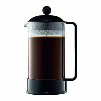The Brazil French Press coffee maker, designed in the early 80's, was our first coffee maker and quickly became a symbol of what Bodum stands for. Attractive and functional design at an affordable price. The Brazil has a durable, heat-resistant boros...