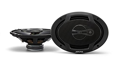 Alpine SPJ-691C3 Alpine 6 x 9 Inches Coaxial 3-Way Speaker, Set of 2 (Alpine Car Speakers compare prices)