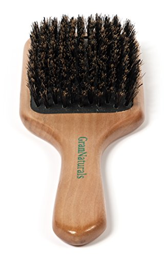 GranNaturals Boar Bristle Paddle Hair Brush (Small Hair Brush With Bristles compare prices)