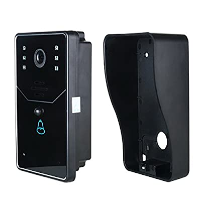 EastVita WiFi DoorBell Wireless Smart Video Doorbell Home Improvement Visual Door Ring