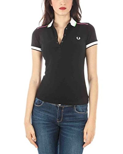 Fred Perry Polo Negro