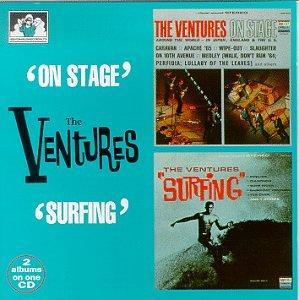 The Ventures - Ventures on Stage/Surfing - Zortam Music