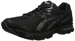 ASICS Men\'s GT-1000 3 Running Shoe,Black/Onyx/Lightning,12.5 M