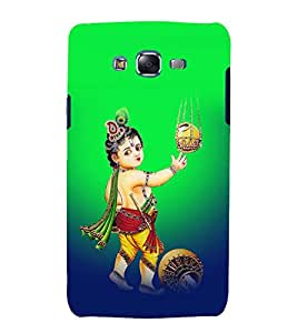 printtech Lord God Krishna Back Case Cover for Samsung Galaxy Quattro i8552 / Samsung Galaxy Quattro Win i8552