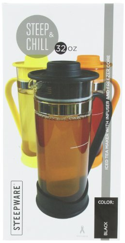 The Tea Spot Steep And Chill-Black, 1 Quart