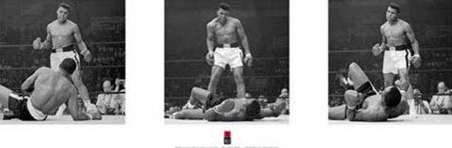 Empire 379085 Poster Muhammad Ali, trittico, 91,5 x 30.5 cm