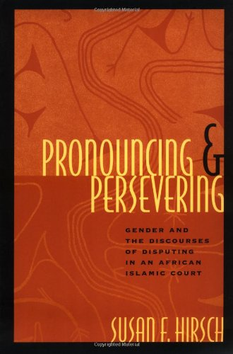 Pronouncing and Persevering: Gender and the Discourses of...