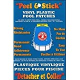 Boxer Adhesives Peel and Stick Vinyl Plastic Pool Patch (Tamaño: 100 sq. in)