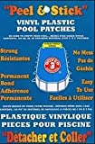 Boxer Adhesives Peel & Stick Vinyl Plastic Pool Patch