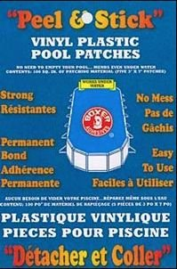Boxer Adhesives Peel & Stick Vinyl Plastic Pool Patch (100 sq. in) (Plastic Inflatable Repair Kit compare prices)