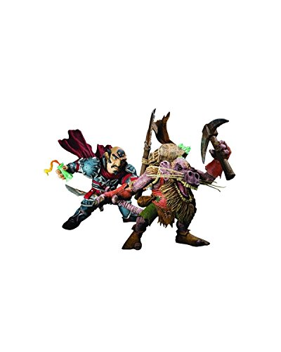 World of Warcraft Ser8 Brink Spannercrank vs Snaggle Figure 2pk DC Unlimited (Brink Merchandise compare prices)