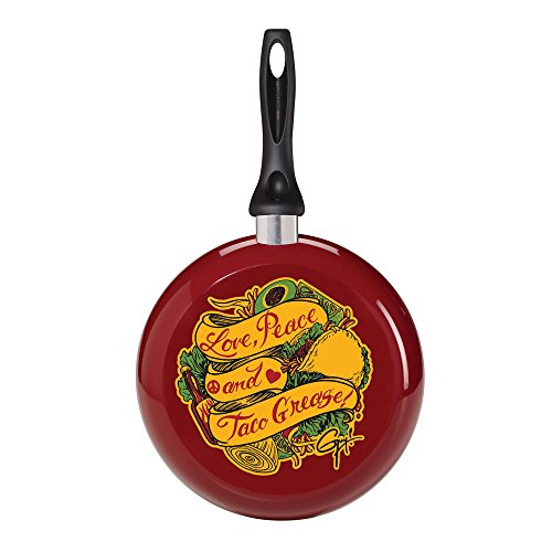 Guy Fieri Decorated Fry Pan, 9-1/2-Inch