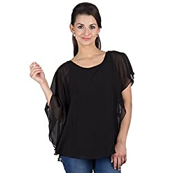 Y & I Polyester Viscose Top-YIWT15054