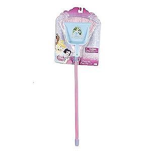 Amazon Com Disney Princess Broom Amp Dust Pan Set Toys Amp Games