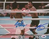 Sugar Ray Leonard Roberto Duran Dual Signed 8x10 Photo PSA/DNA ITP 1A
