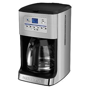 Farberware Coffee Maker Ratings : Farberware CM3004SC 12 Cup Coffee Maker with Tea Maker, Silver: Amazon.ca: Home & Kitchen