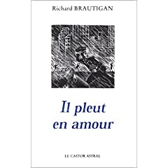 Il pleut en amour - Richard Brautigan