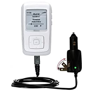 Car and Home 2 in 1 Combo Charger for the Memorex MMP8575 - uses Gomadic TipExchange Technology